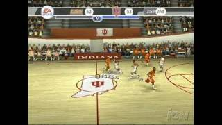 NCAA March Madness 07 PlayStation 2 Gameplay -
