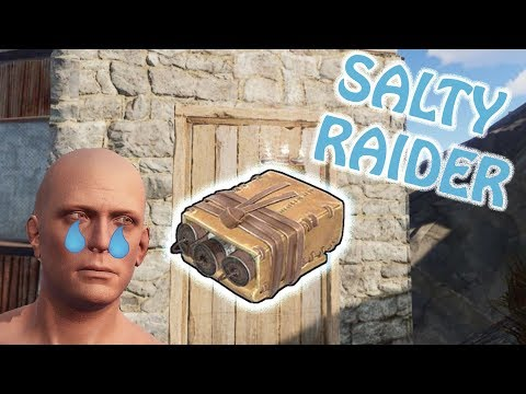 SALTY RAIDER keeps coming BACK! Rust Solo Survival Part 2 thumbnail