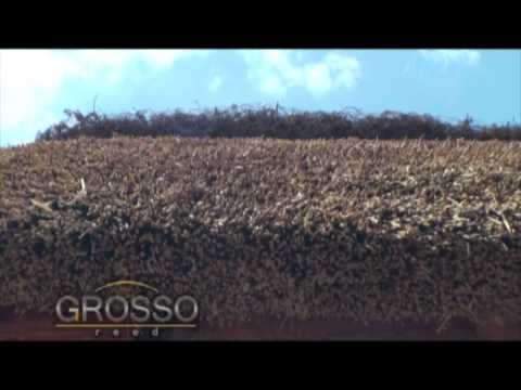 видео: grosso odessa - Кровли из камыша