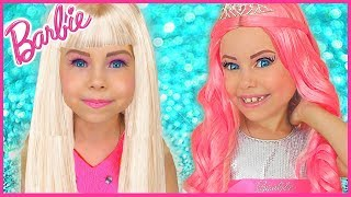 Alice Pretend Play how Barbie Doll | Funny video Compilation by kids smile tv thumbnail