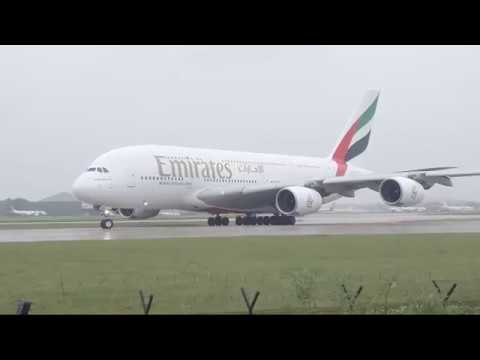 🔴 Live Manchester airport emirates spotting
