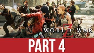 WORLD WAR Z Gameplay Walkthrough Part 4 - DEAD SEA STROLL (CO-OP)