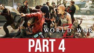 WORLD WAR Z Gameplay Walkthrough Part 4 - DEAD SEA STROLL (CO-OP)