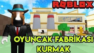 We Are Building Our Own Toy Factory 🧸 🧸 | Toy Tycoon | Roblox English