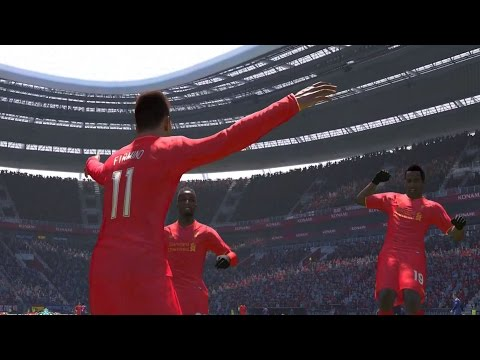 PES 2017 - Liverpool FC vs FC Barcelona | Gameplay (PC HD) [1080p60FPS]