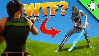 HIDDEN CHARACTER LEAKED?! - Fortnite Funny Moments 43