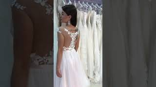 Цветные свадебные платья СПб