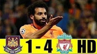 West Ham United vs Liverpool 1- 4 Highlight & Goals - 04 Nov 2017