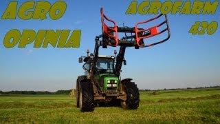 Agro Opinia: Deutz-Fahr Agrofarm 420 uniwersalny i wygodny