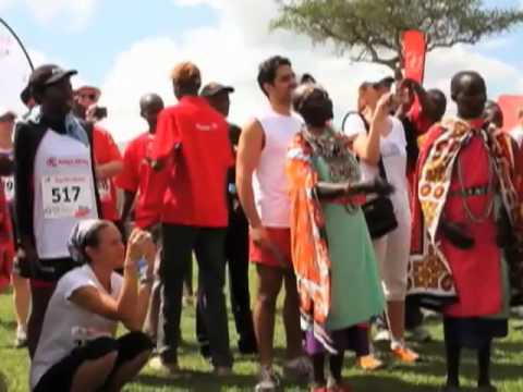 Marathon Attracts Sports Tourists to Kenya's Masai Mara