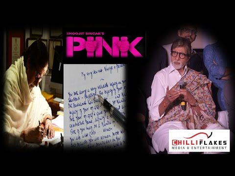 Amitabh Bachchan's Letter Was A Promotional Activity For PINK | Must Watch