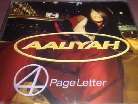 aaliyah 4 page letter aaliyah 4 page letter timbaland s mix 48616