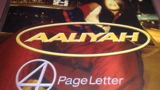 Aaliyah - 4 Page Letter (Timbaland