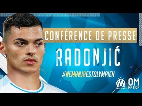 Nemanja Radonjić | Sa première conférence de presse