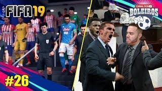 TRETEI FEIO COM GRIEZMANN E LEMAR NAS VÉSPERAS DA SEMI DA CHAMPIONS!!! MODO CARREIRA #26 | FIFA 19