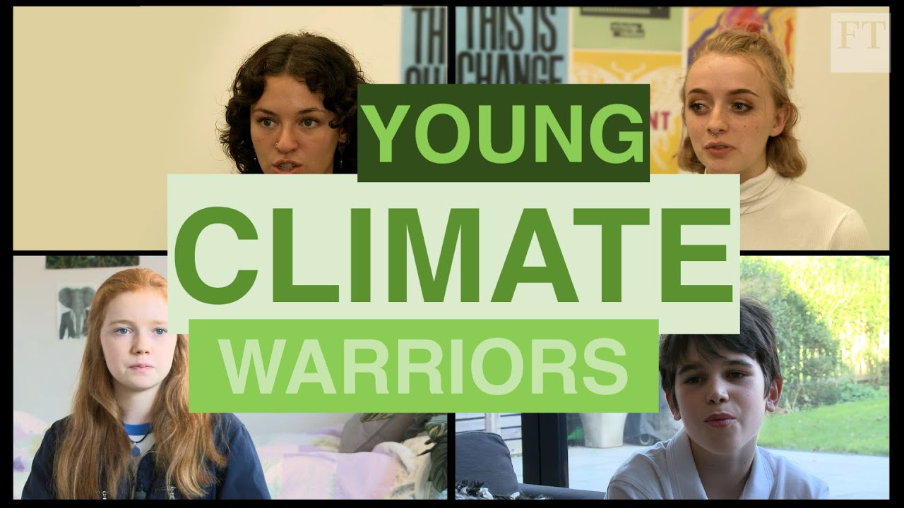 Image result for young climate warriors