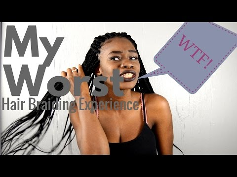 African Hair Braiding Experience (GONE WRONG)