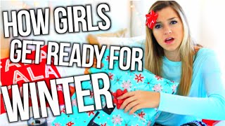 How Girls Get Ready For Christmas!