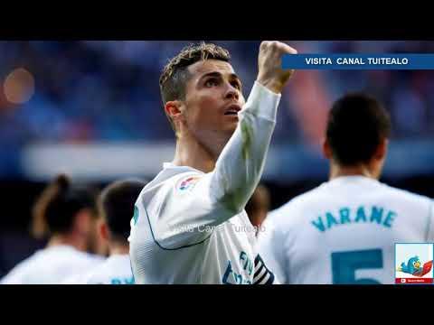 Con doblete de Cristiano Ronaldo Real Madrid vence 4-0 a Alavés Video - 동영상