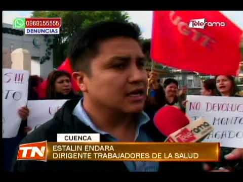 Trabajadores de la salud piden que se cumpla el contrato colectivo