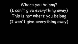 Trapt - Headstrong (lyrics)
