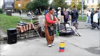 Индейцы в Смоленске 2016(Фрагменты концерта в День Города в Смоленске, 2016 г., 2016-09-26T21:09:12.000Z)