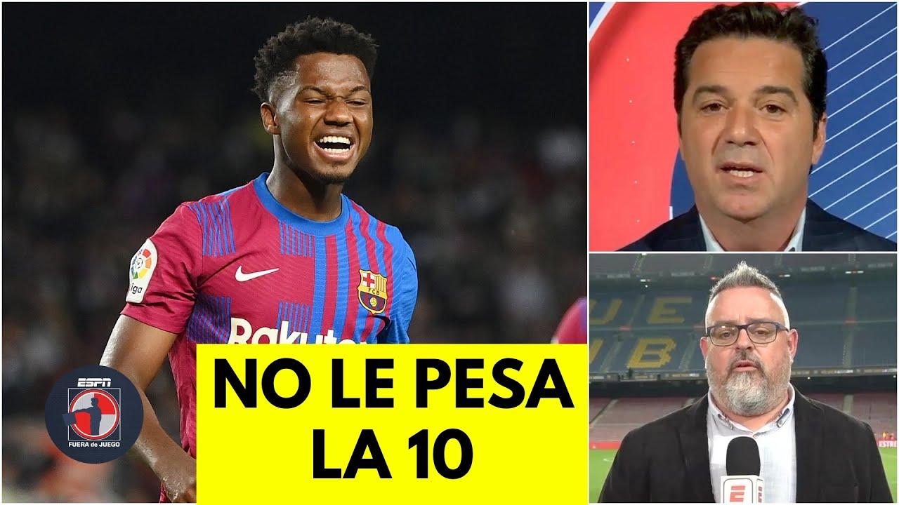 Download ANSU FATI hizo OLVIDAR a LIONEL MESSI en la victoria del Barcelona vs Valencia   Fuera de Juego
