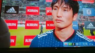 サッカー日本代表対パナマ 原口元気