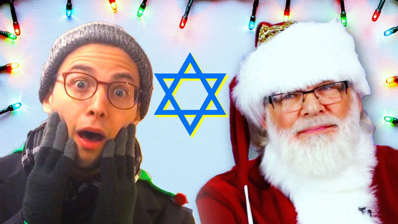Jews Try Christmas For The First Time - YouTube