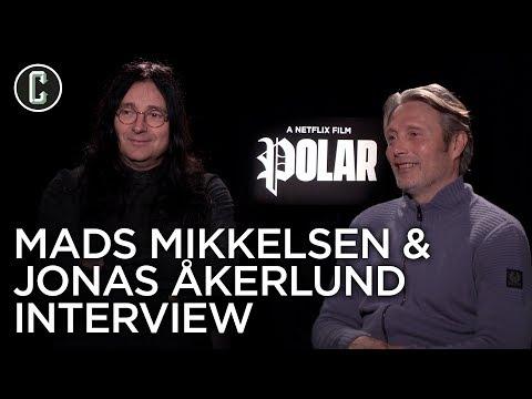 Polar: Mads Mikkelsen & Jonas Akerlund Interview