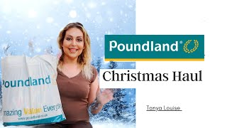 POUNDLAND CHRISTMAS HAUL - Tanya Louise