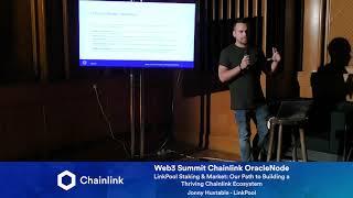 Chainlink Web3 Summit OracleNode: LinkPool Staking & Market