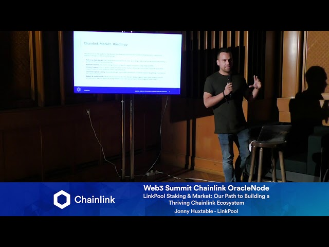 Chainlink Web3 Summit HackerNode: LinkPool Staking & Market