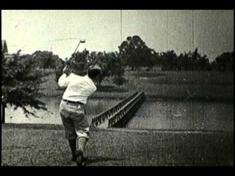 1927 Bobby Jones National Golf Champion Instructional Film No. 1