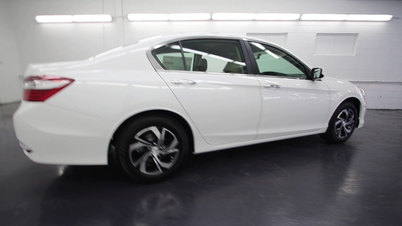 2017 Honda Accord White >> 2017 Honda Accord LX | White Orchid Pearl | HA051182 ...