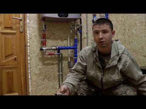 Правильная обвязка водонагревателя. Трубы рехау и STOUT. Нефтеюганск и Сургут.