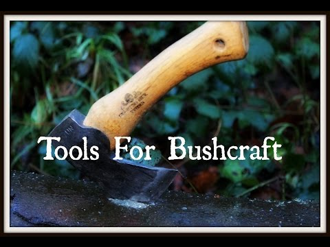 Getting started in Bushcraft: Tools for bushcraft