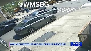 Hit-and-run driver abandons car after striking woman in Brooklyn: police