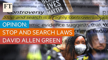 Opinion: David Allen Green's guided tour of UK stop and search law