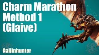 MH4U: Charm Marathon Method 1 (Glaive)