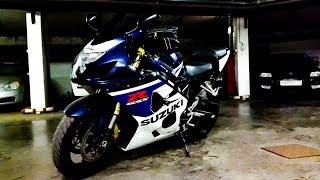 Suzuki GSX-R 600 K4/Купил  новый мотоцикл/Первый раз на спортбайке