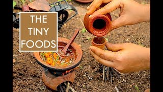 Prawn Curry   Roti   EP#4   The Tiny Foods