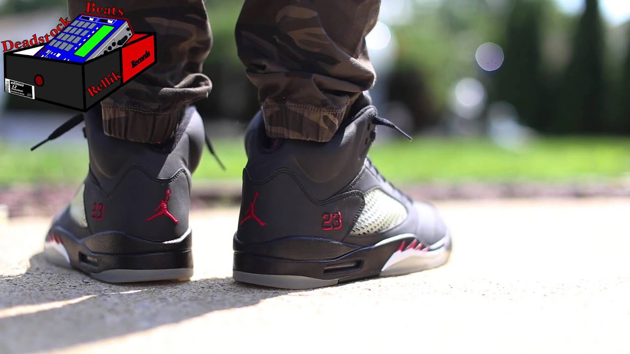 the best attitude dbbee 4791e Air Jordan 5 Raging Bull 3M On Feet