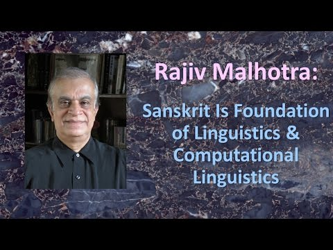 Sanskrit is Foundation of Linguistics & Computation: Rajiv at Duke University #2