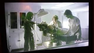 Girl electrocuted by mutants