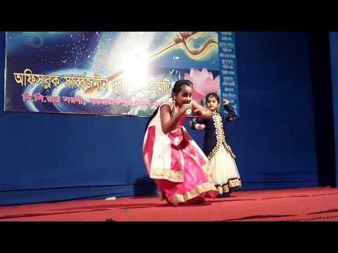 DHOLI TARO DHOL BAJE//HUM DIL DE CHUKE SANAM// By-- Tiyasha Kar & Priyanka Kar