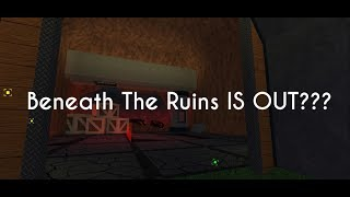 BENEATH THE RUINS IN TEST MAP?! | Roblox FE2 Map Test