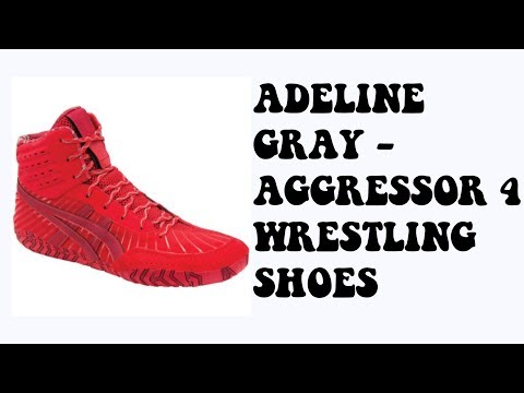 Adeline Gray-Agressor 4 Wrestling Shoes Review