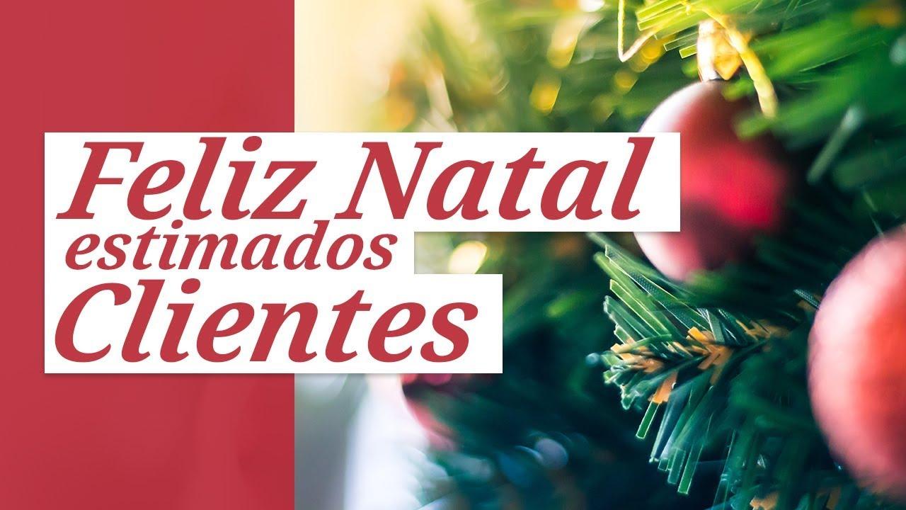 Feliz Natal Estimados Clientes Mensagem De Natal Para Clientes