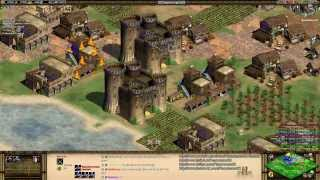 Gambar cover Aoe2 HD: 4v4 Black Forest (Byzantines, Super Fast Imperial Age Tutorial) (11/8/13)